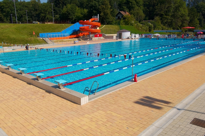 Swimming camp Ravne - Slovenia